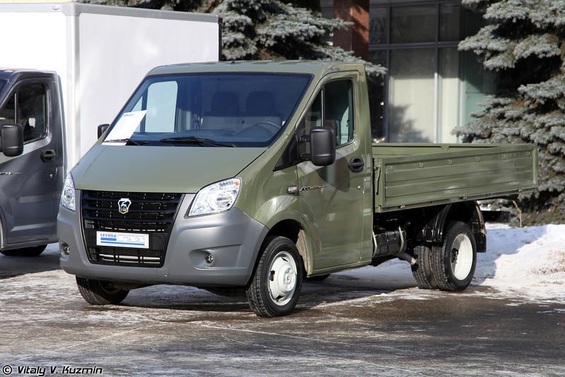 Бортовой автомобиль ГАЗ-А21R32 ГАЗель NEXT (GAZ-A21R32 GAZel NEXT)
