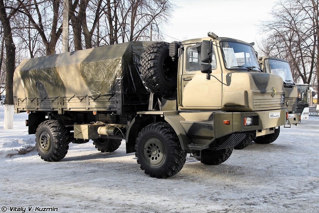 Автомобиль бортовой Урал-432065 (Ural-432065)