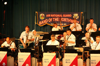 TSGT Alan Hirayama, alto sax (group leader) and SRA Joel Sandford, tenor sax