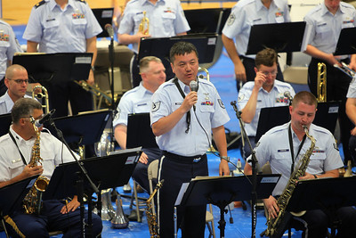 "TSGT Alan Hirayama introduces ""Jazz In Blue"""