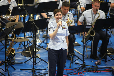 "SSGT Ruth Petkaitis sings ""Big Time"""