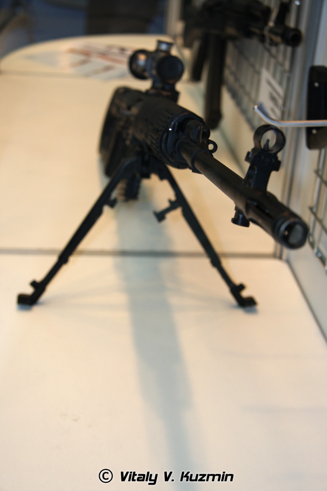 Винтовка СВД (SVD sniper rifle)