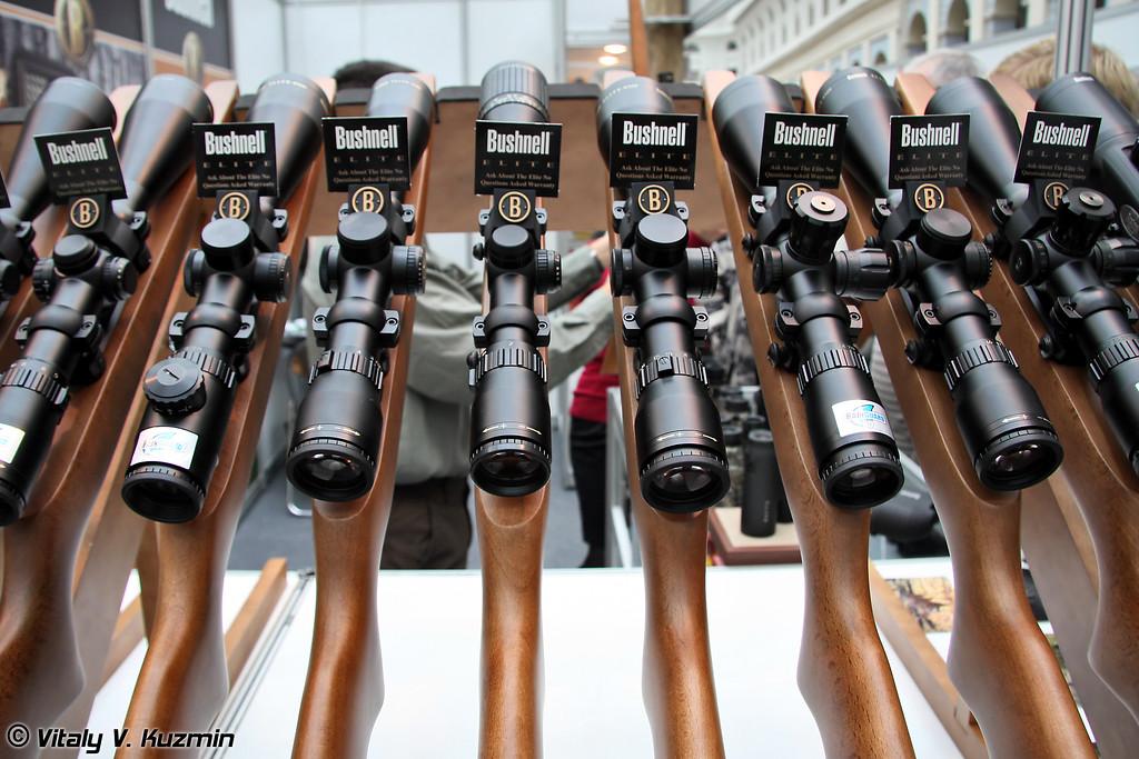 Оптические прицелы Bushnell (Bushnell optics)