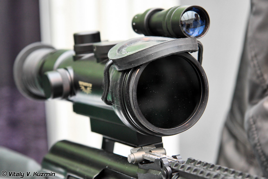 Ночной охотничий прицел INFRATECH IT–204A (Night vision scope INFRATECH IT–204A)