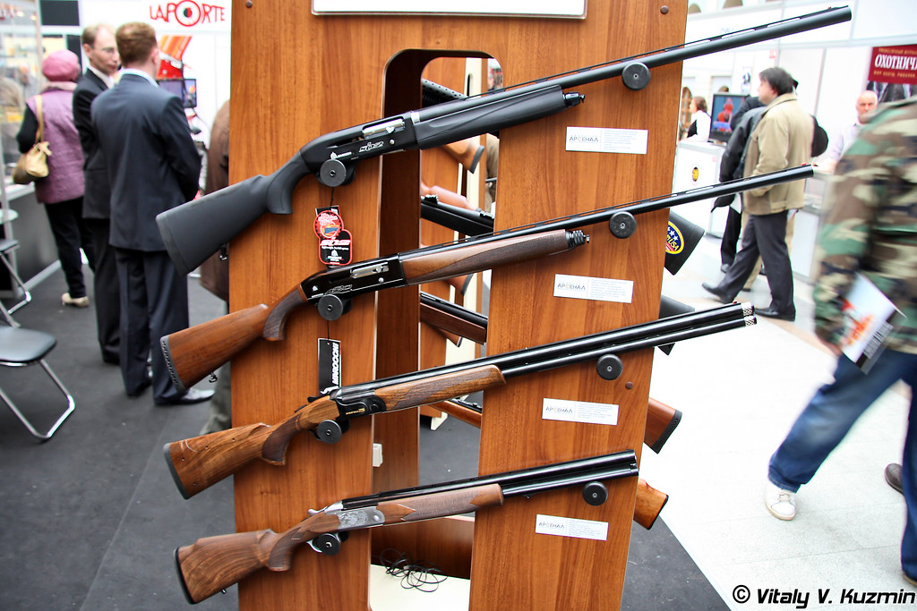 Ружья охотничьи Marocchi Si 12 Complus, A20, 03 Factory Style и Finn 512S SD (Marocchi Si 12 Complus, A20, 03 Factory Style and Finn 512S SD hunting guns)