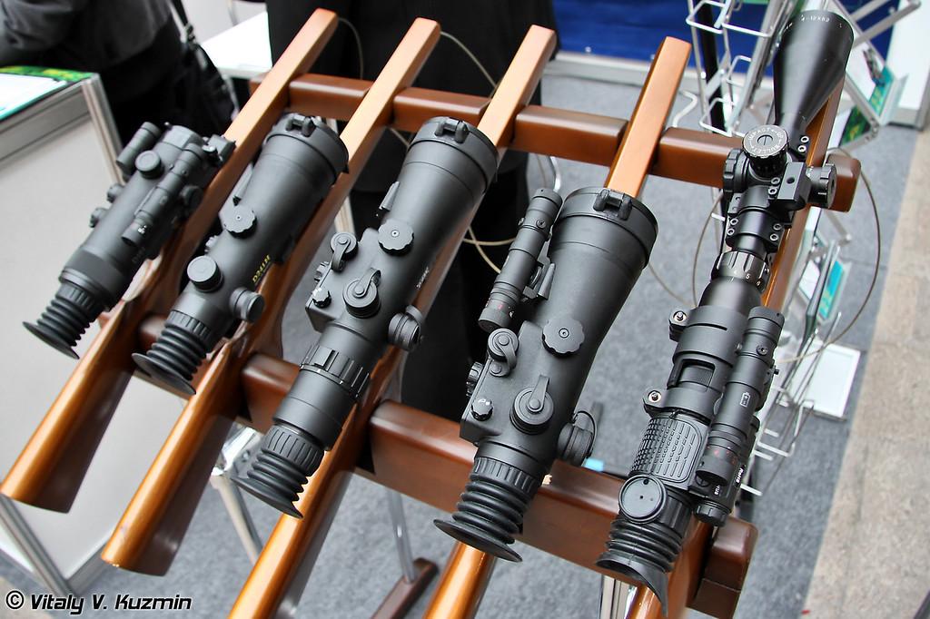 Прицелы от белорусской компании Dipol (Belorussian Dipol company scopes)