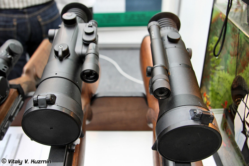Ночные прицелы Dedal-180 и Dedal-470 (Dedal-180 and Dedal-470 night vision scopes)