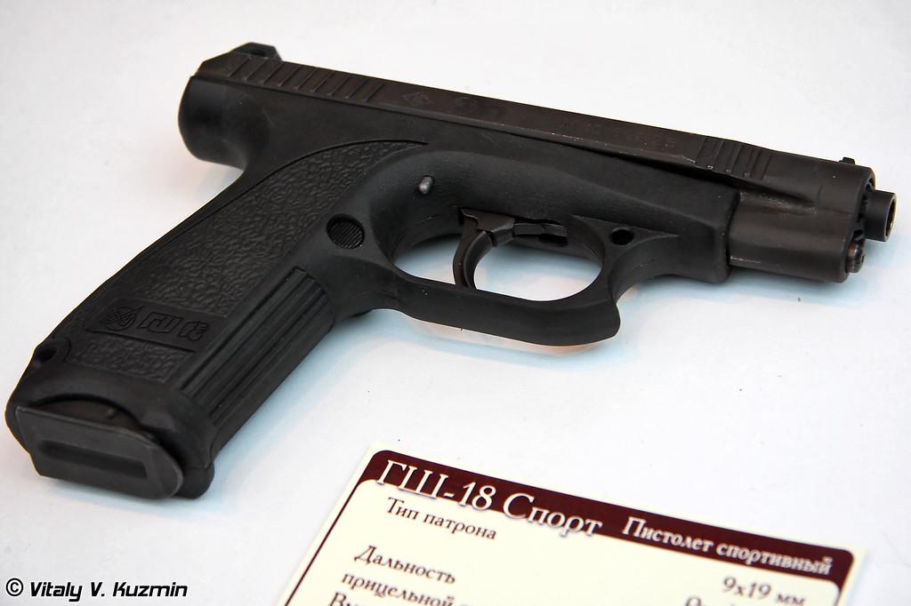 ГШ-18 Спорт (GSh-18 Sport pistol)