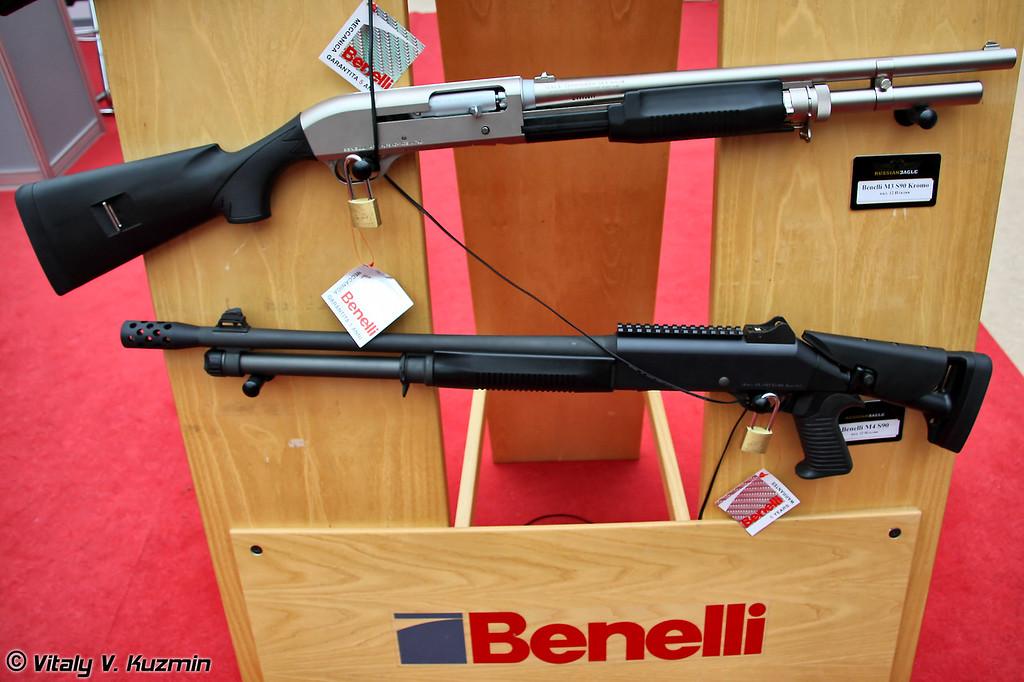 Benelli M3 Super 90 Kromo и Benelli M4 Super 90