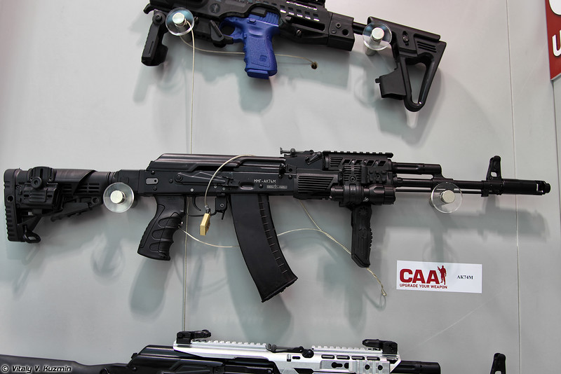 Примеры тюнинга АК74М от CAA Tactical (Examples of AK74M upgrades from CAA Tactical)