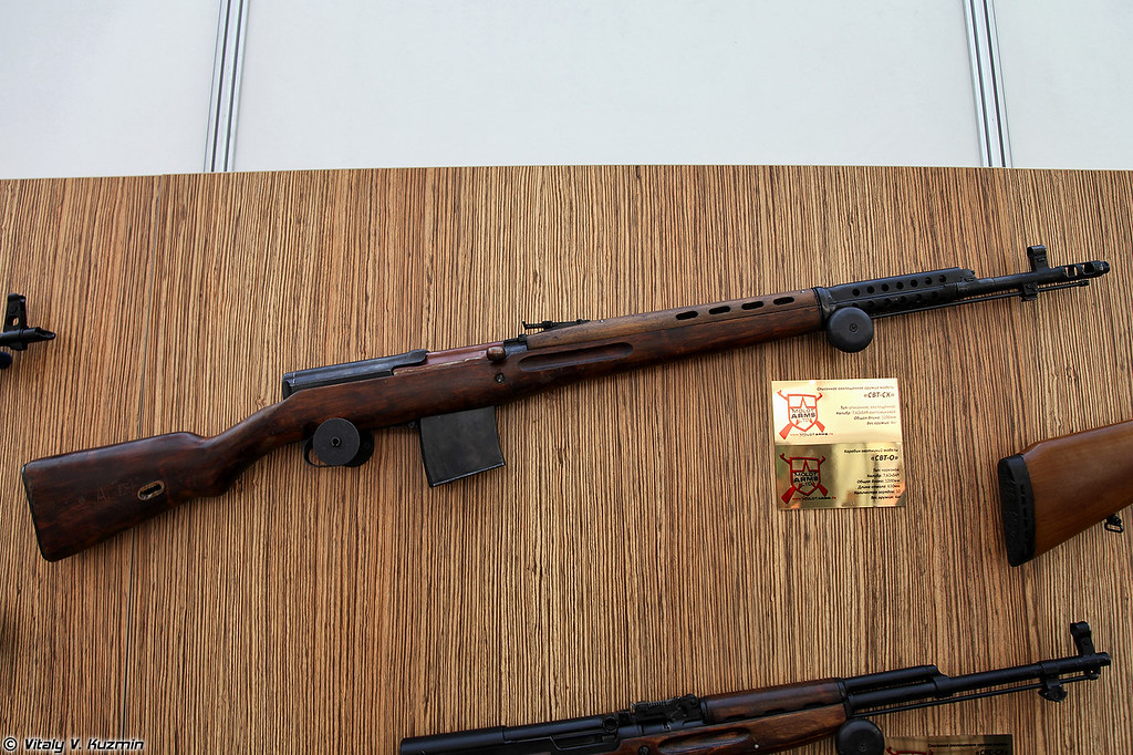 7,62х54R карабин СВТ-О (7,62x54R carbine SVT-O)