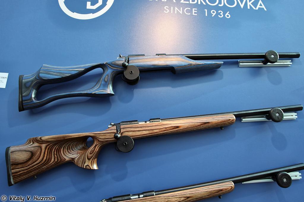 .22 LR винтовки CZ 455 Evolution и 455 Thumbhole