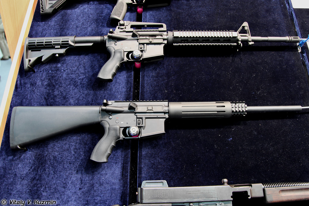 Schmeisser .223 Rem AR15-M5 и 9mm AR-15