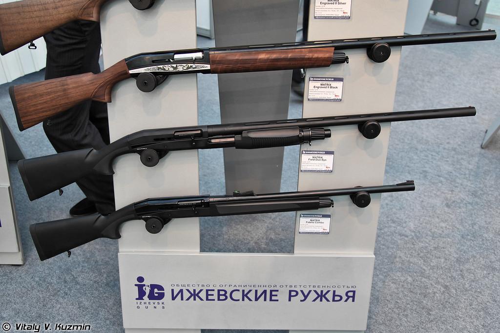 12/76 турецкие ружья KHAN Arms Matrix Engraved II Black, Matrix Field Duo-Sys и Matrix Fidelio Combo