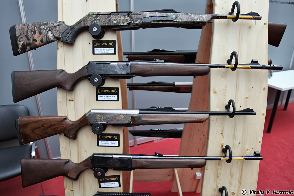 .300 WM ружья Browning BAR Light Long Trac Composite Moinf и Browning BAR Boss, а также .30-06 Browning BAR Light Long Trac Eclipse Gold LH