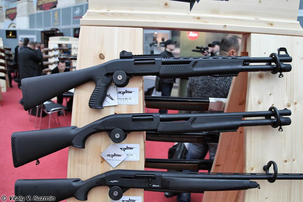 12x76 ружья Armsan RS-X2 и RS-X1