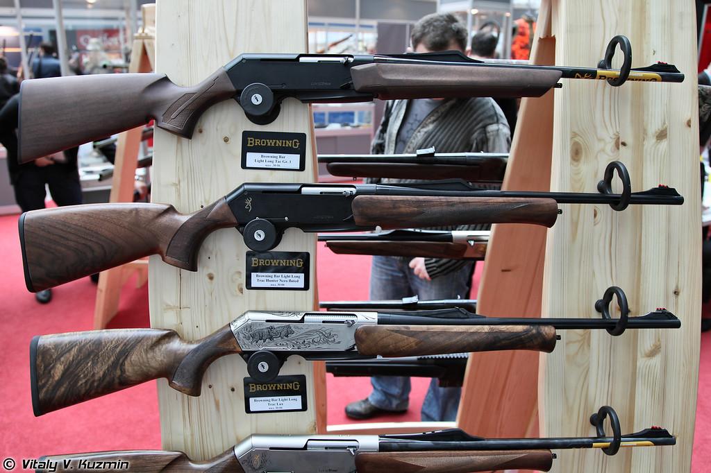 .30-06 ружья Browning BAR: Light Long Trac Gr.1, Light Long Trac Hunter Nero и Light Long Trac Lux