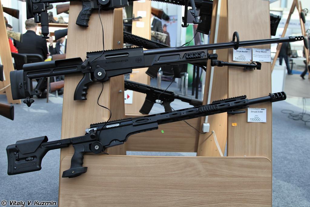 Винтовки RPA Rangemaster .338 LM и Zbroyar Z-008 .308 Win