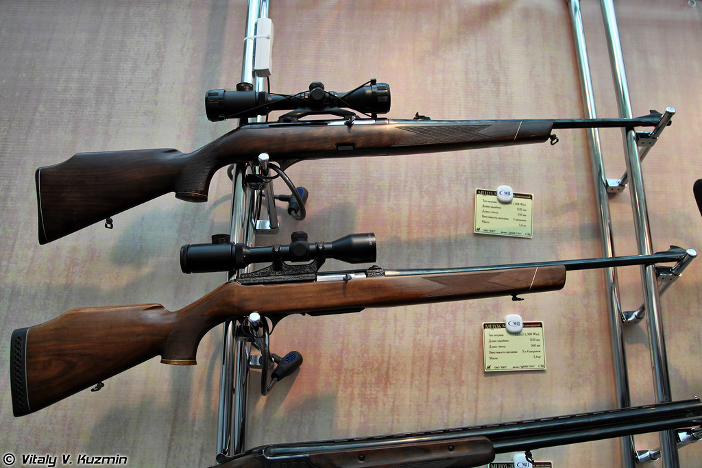 .308 Win карабины МЦ125 и МЦ126 (.308 Win MTs125 and MTs126 rifles)