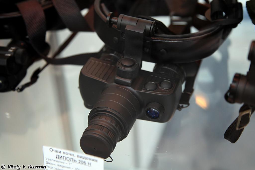 Очки ночного видения ДИПОЛЬ 206Н (Dipol 206N night vision device)
