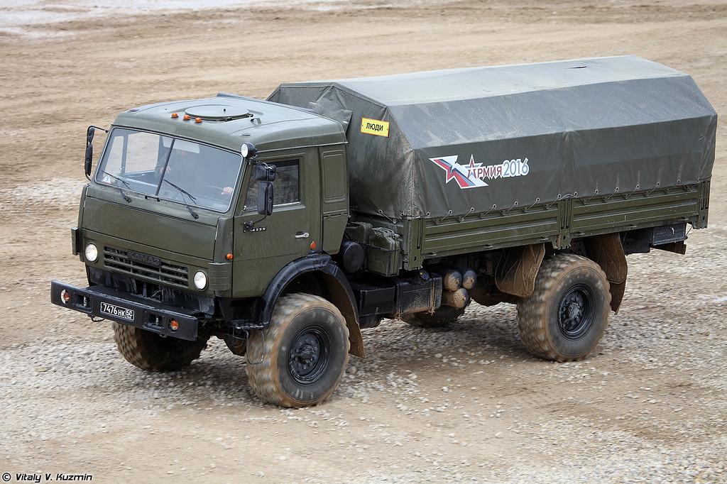 КАМАЗ-4350 (KAMAZ-4350)