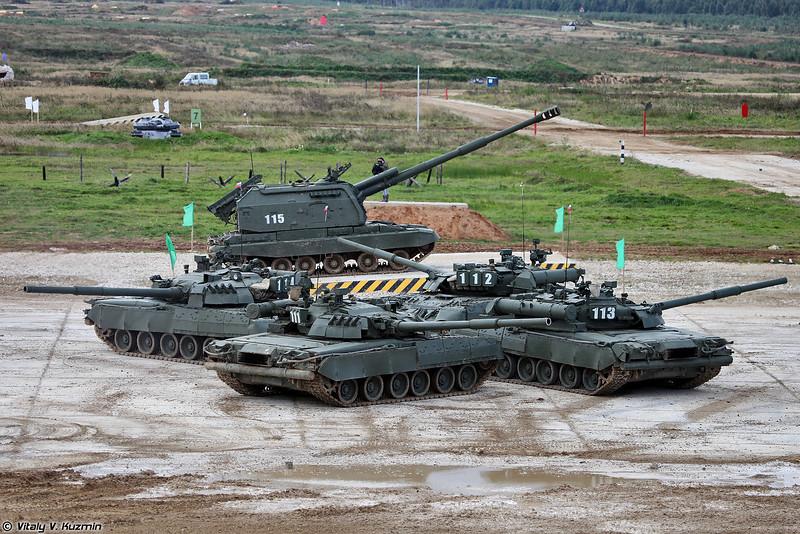 Танковый балет (Tank ballet)