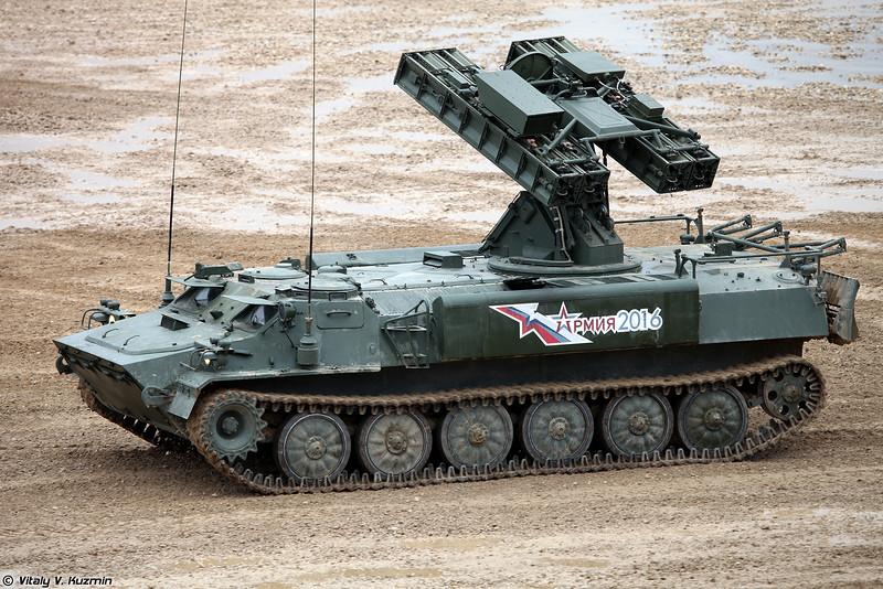 ЗРК 9К35М4 Стрела-10М4 (9K35M4 Strela-10M4 SAM system)