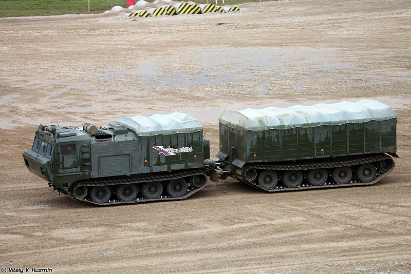 Транспортер ДТ-10ПМ (DT-10PM tracked vehicle)