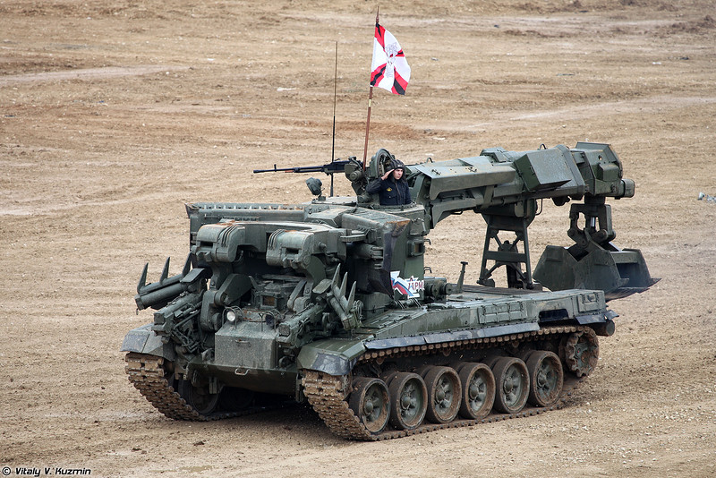 Инженерная машина разграждения ИМР-3М (IMR-3M obstacle clearing vehicle)