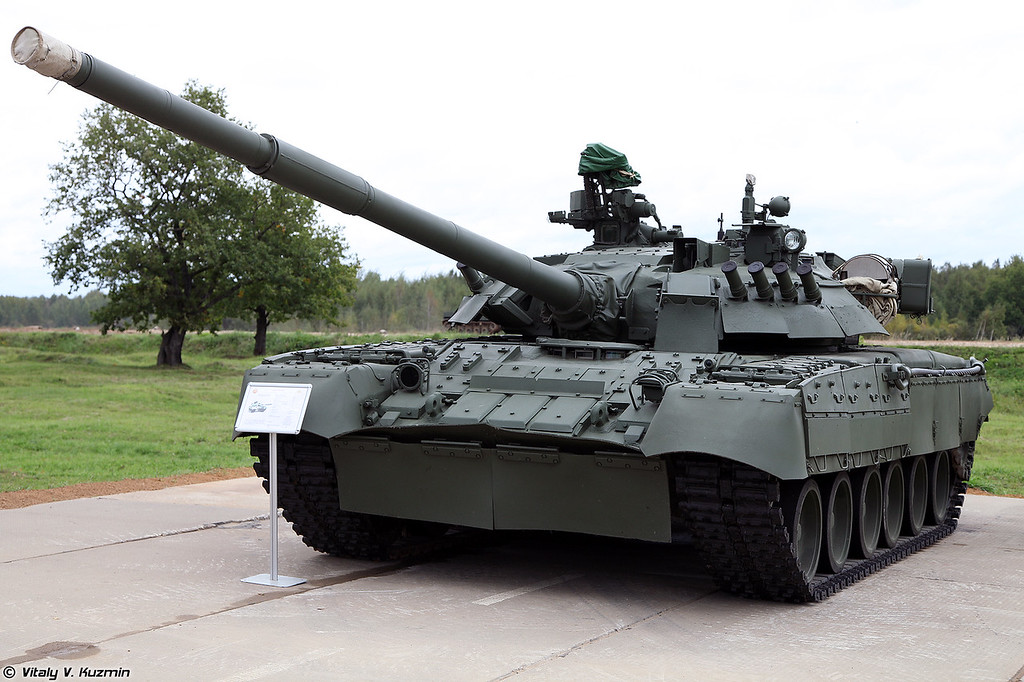 Танк Т-80УЕ-1 (T-80UE-1 main battle tank)