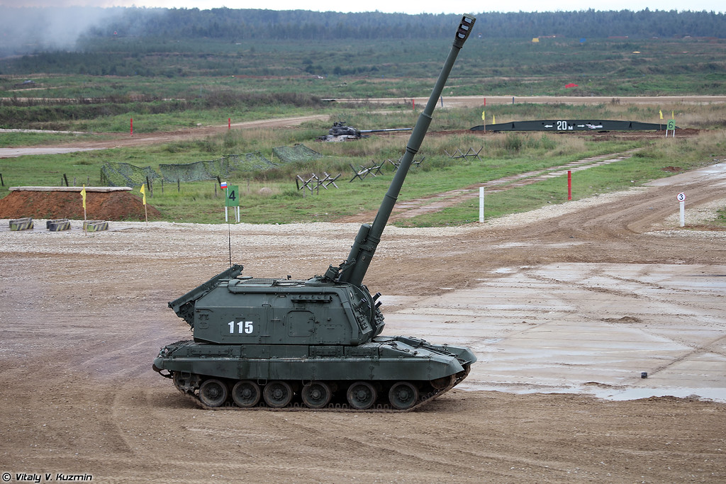 САУ 2С19М1 Мста-С (2S19M1 Msta-S self-propelled howitzer)