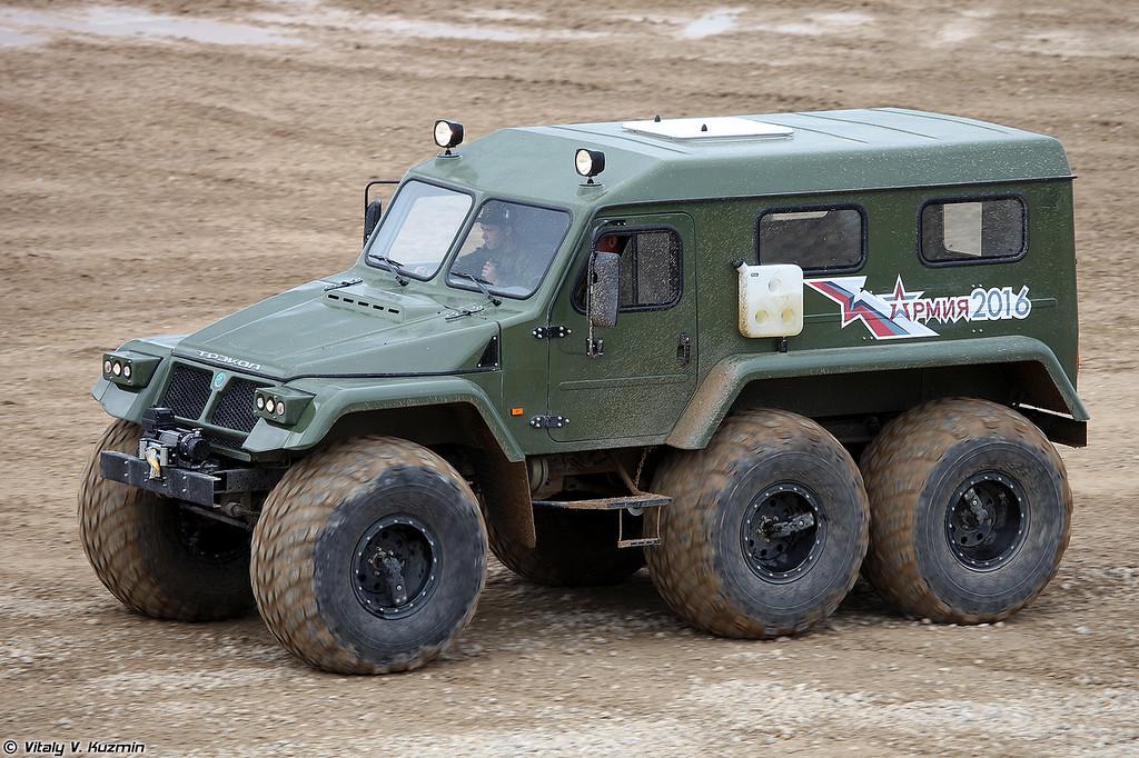 ТРЭКОЛ-39294 (TREKOL-39294 all-terrain vehicle)
