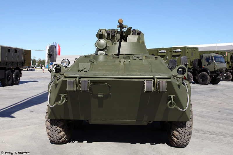 Бронетранспортер БТР-82АМ (BTR-82AM armored personnel carrier)