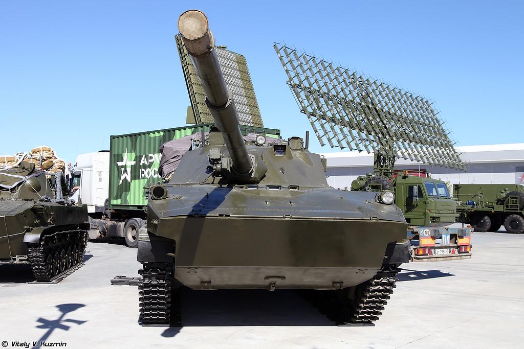 Самоходная противотанковая пушка 2С25 Спрут-СД (Self-propelled tank destroyer 2S25 Sprut-SD)