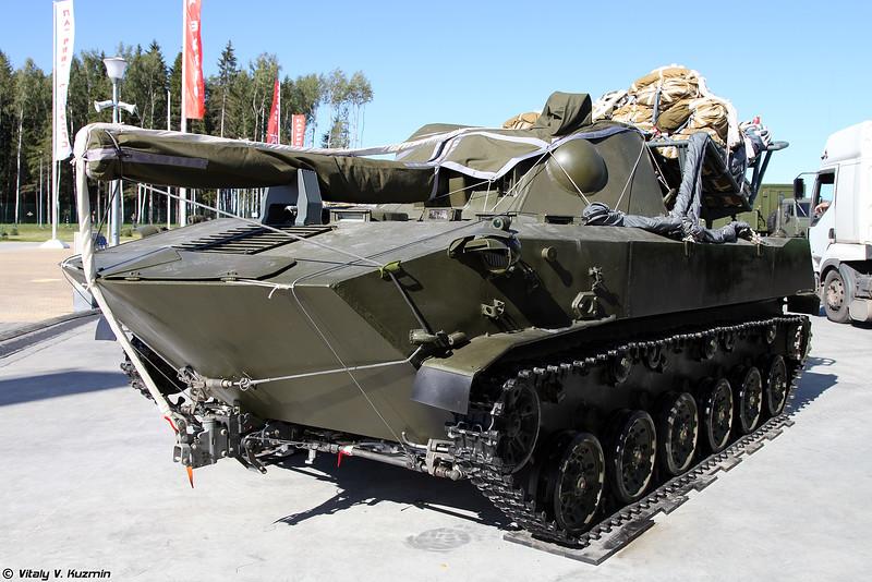 Самоходное артиллерийское орудие 2С9 Нона-С (2S9 Nona-S self-propelled artillery)