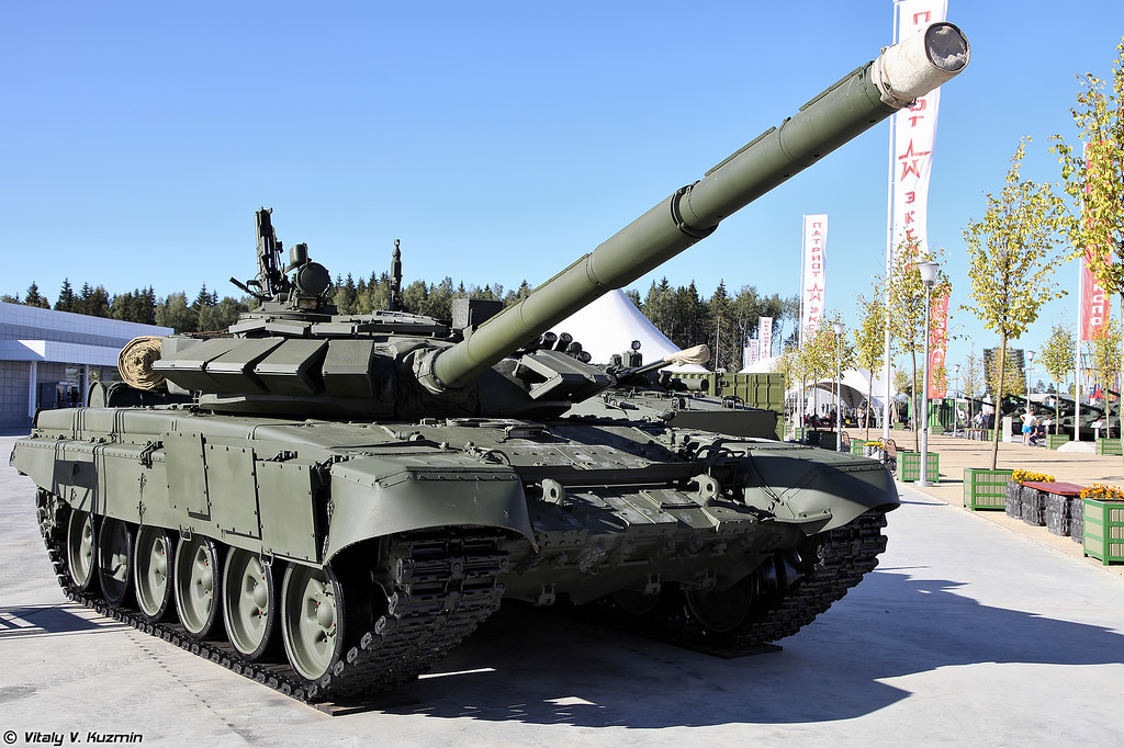 Т-72Б3 (T-72B3 main battle tank)