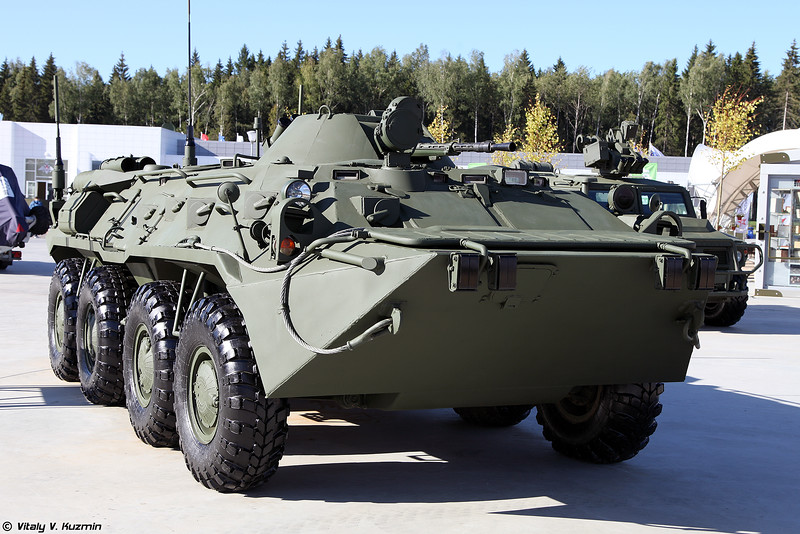 Унифицированная командирская машина Р-149МА3 (R-149MA3 command vehicle)