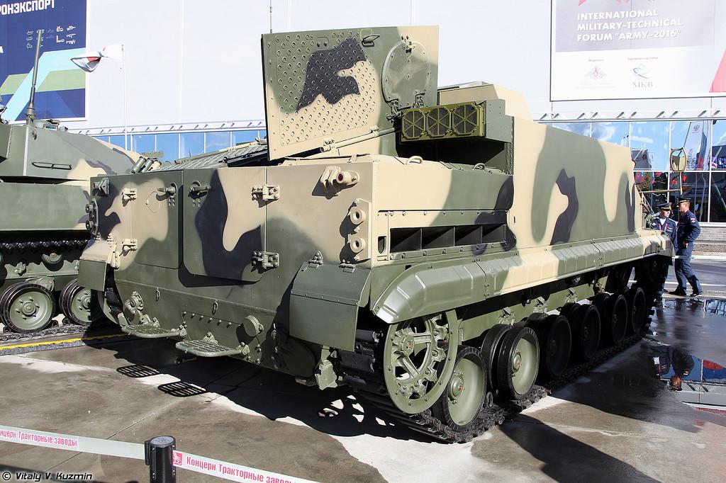 Бронетранспортер БТ-3Ф (BT-3F armored personnel carrier)