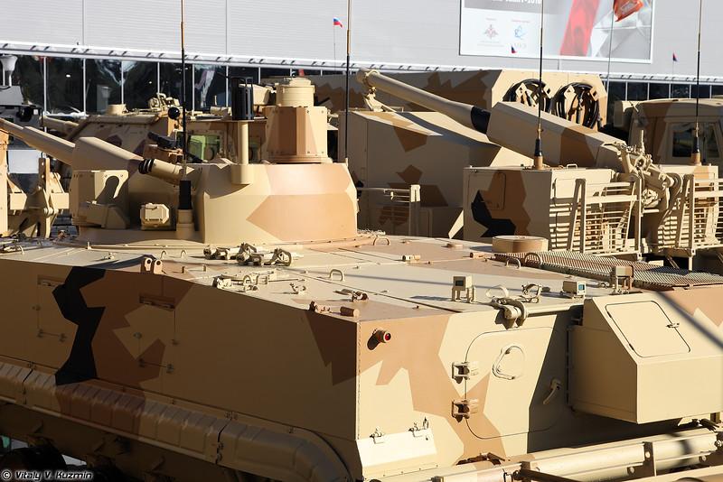 БРМ-3К с 57-мм боевым модулем АУ-220М Байкал (BRM-3K reconnaissance vehicle with 57mm AU-220M Baikal turret system)