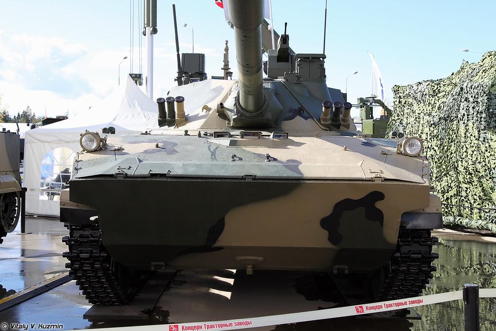 Самоходная противотанковая пушка 2С25М Спрут-СДМ1 (Self-propelled tank destroyer 2S25M Sprut-SDM1)