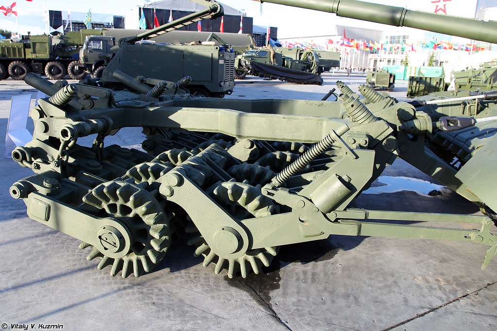 Минный трал ТМТ-С (TMT-S mine plow)