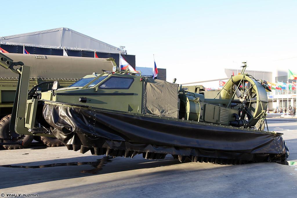 Инженерный разведывательный амфибийный катер на воздушной подушке ИРК (IRK engineer reconnaissance boat)