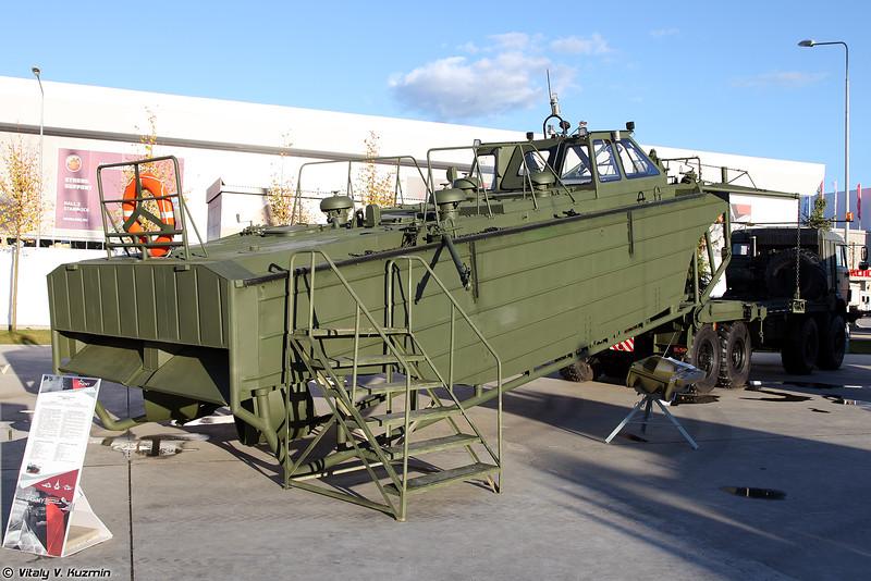 Буксирно-моторный катер БМК-15 (BMK-15 boat)