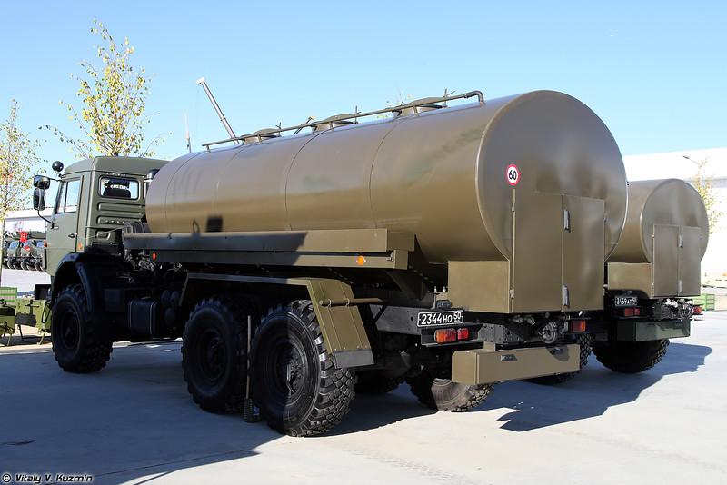 Автомобиль-цистерна для питьевой воды АЦПТ-10-53501 (ATsPT-10-53501 water tank)