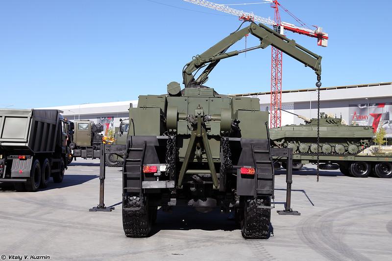 Машина технической помощи МТП-А2 (MTP-A2 technical assistance vehicle)