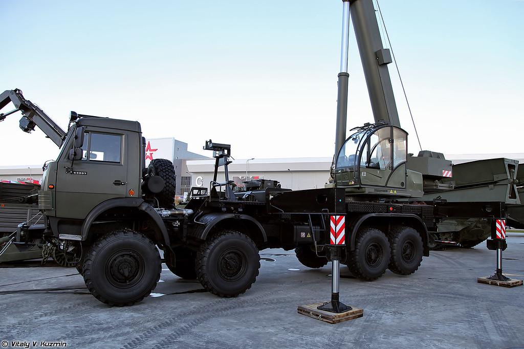 Кран автомобильный КС-65719 (KS-65719 crane)