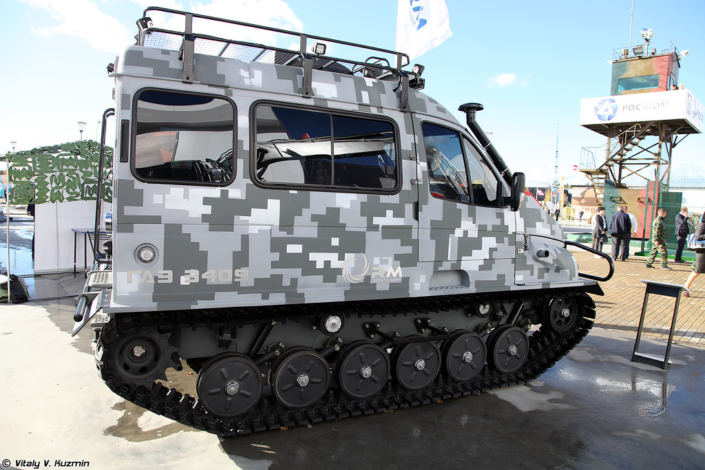 Cнегоболотоход ГАЗ-3409 (GAZ-3409 all-terrain vehicle)