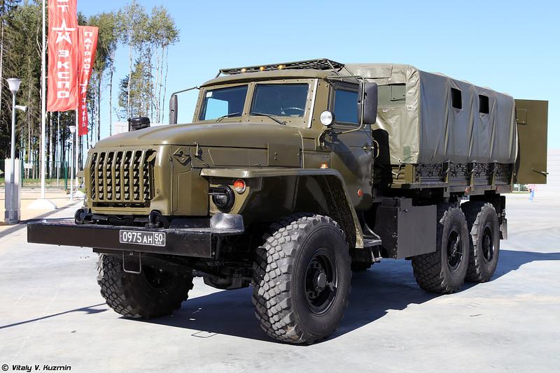 Урал-4320КДЗ (Ural-4320KDZ armored vehicle)