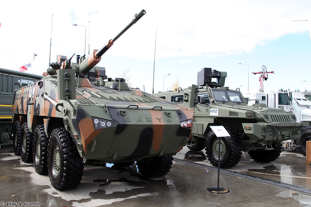 Бронетранспортер Барыс 8х8 (Barys 8x8 armored personnel carrier)