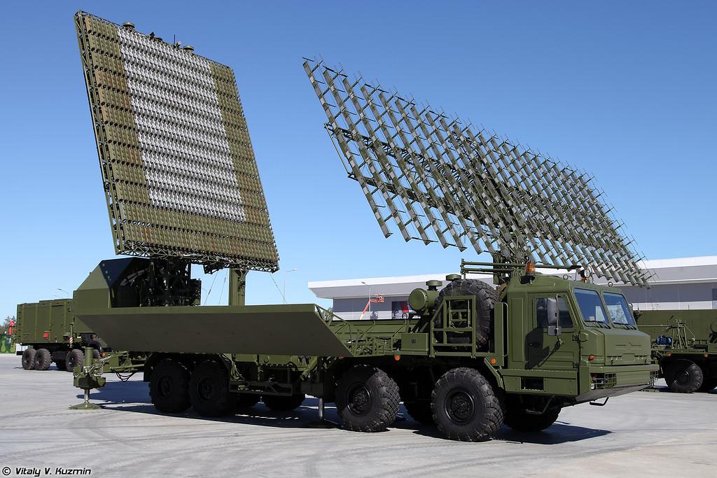 РЛК 55Ж6М Небо-М - Радиолокационный модуль дециметрового диапазона волн РЛМ-Д (55Zh6M Nebo-M radar system - RLM-D radar)